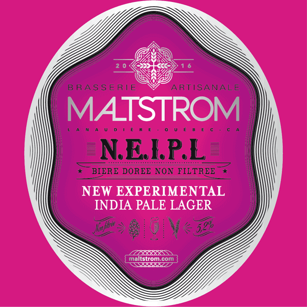 New England India Extra Pale Lager biere Maltstrom